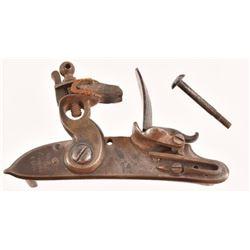 Harper's Ferry 1806 Flintlock Plate & Lock