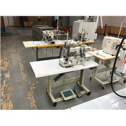 PEGASUS W500 SERIES W562-05CB DUAL NEEDLE, 5 THREAD ELASTIC BAND COMMERCIAL SEWING MACHINE