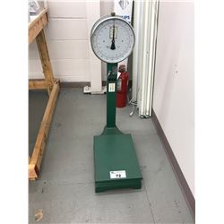 GREEN COMMERCIAL 220LB CAPACITY WEIGHT SCALE