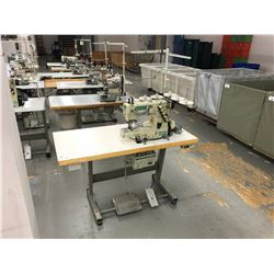 YAMATO VC2700-156M SINGLE NEEDLE, 5 THREAD COMMERCIAL SEWING MACHINE