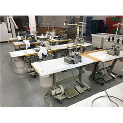 KANSAI SPECIAL DPW-1302-W DUAL NEEDLE, 4 THREAD COMMERCIAL SEWING MACHINE