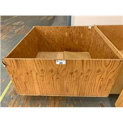 48 X 49 WOODEN PALLET CRATE