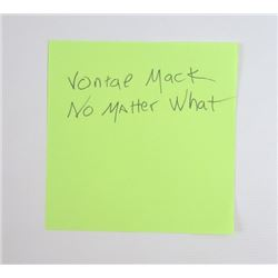 """Draft Day Sonny Weaver Jr. (Kevin Costner) """"Vontae Mack No Matter What"""" Movie Props"""