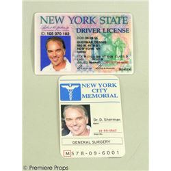 School For Scoundrels DR.P (Billy Bob Thornton) Alias ID Movie Props