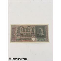 Inglourious Basterds German Currency Movie Props