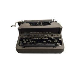 Middle School Vintage Corona Typewriter