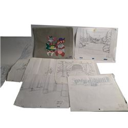 Lot of Woody Woodpecker Sketche, Animation and More!