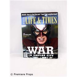 Superhero Movie (2008) City Life & Times Magazine Movie Props