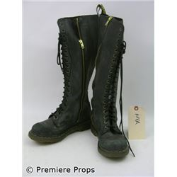 Halloween 2 Mya Rockwell (Brea Grant) Boots Movie Props