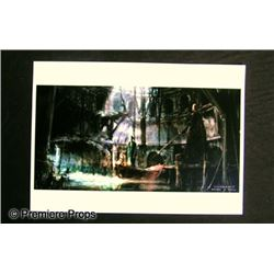 Underworld: Rise of the Lycans Artwork Movie Memorabilia