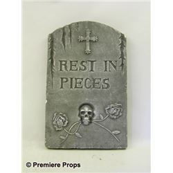 Halloween 2 Tombstone Movie Props