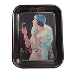 Coca-Cola Art Deco Serving Tray