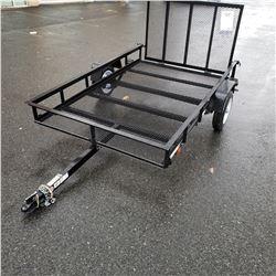 NEW 2019 CARRY-ON 5'x8' MESH BOTTOM UTILITY TRAILER W/RAMP GATE