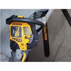 Poulan Pro Chainsaw 18  with bar