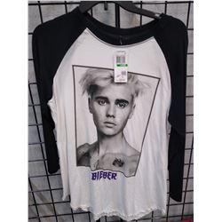 New Justin Bieber L/S shirt