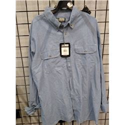 New Men's Canyon Guide Button Shirt XL