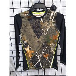 New Woman's Canyon Guide Camo shirt L/S Med