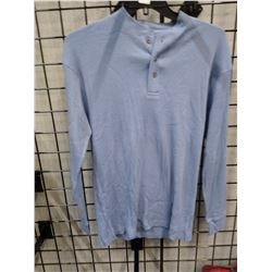New Men's Canyon Guide quarter button L/S Med
