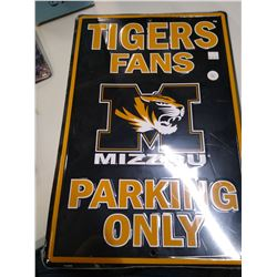 New Mizzou Tigers Metal sign