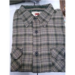 New Dakota Grizzly Men's Flannel L/S XL