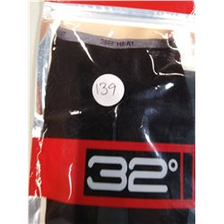 New Men's 32 degree Heat base layer pants small