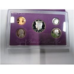 1989 Mint Proof Set
