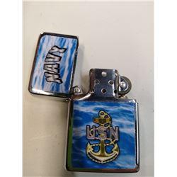 New Navy Zippo Style lighter