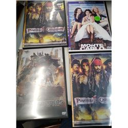 Lot of 5 DVD Movies