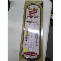 New Tin Thermometer Bait Lures