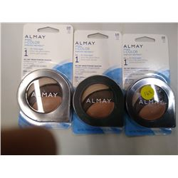 New Almay lot of 3 eye shadow