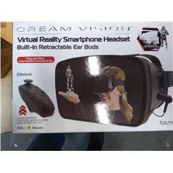 New Dream Vision VR Smartphone headset