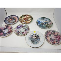 LOT OF ASSORTED DECORATIVE PLATES