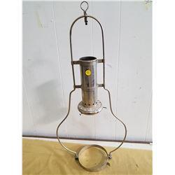 ONE GENERAL STORE LAMP HANGER (CHROME)