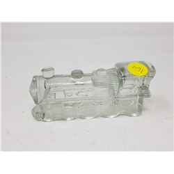 GLASS CANDY CONTAINER (TRAIN)