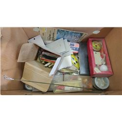 LOT OF ASSORTED FISHING ITEMS