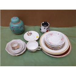 LOT OF ASSORTED DISHES