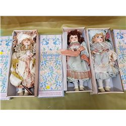 THREE VANESSA DOLLS