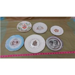 LOT OF ROYALTY PLATES
