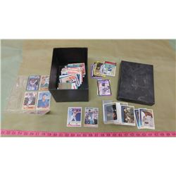 BOX OF ASSORTED COLLECTOR CARDS