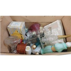 LOT OF ASSORTED AVON ITEMS