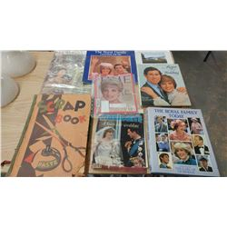 ROYALTY MAGAZINES AND SCRAP BOOKS