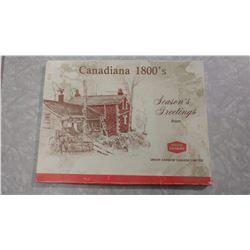 CANADIANA 1800'S UNION CARBIDE PRINTS