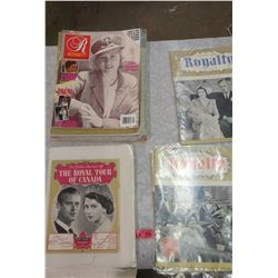 LOT OF ROYALTY MAGAZINES