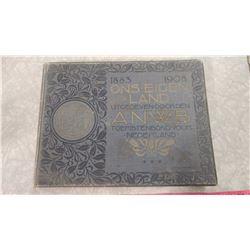 NETHERLANDS 1883-1908 BOOK
