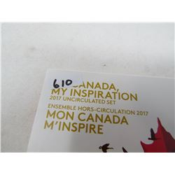 2017 MY CANADA, MY INSPIRATION SET UNCIRCULATED)