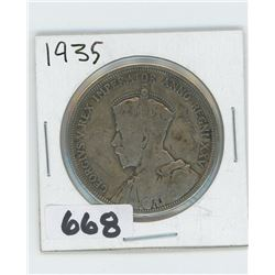 1935 - CANADIAN SILVER DOLLAR