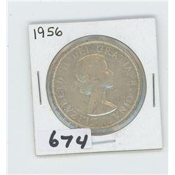 1956 - CANADIAN SILVER DOLLAR
