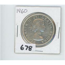 1960 - CANADIAN SILVER DOLLAR