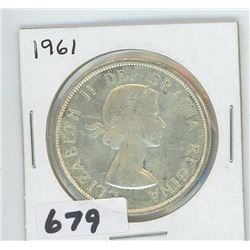 1961 - CANADIAN SILVER DOLLAR