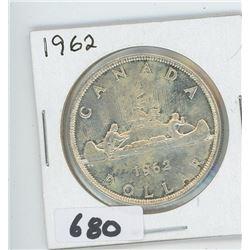 1962 - CANADIAN SILVER DOLLAR